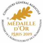 Médaille Or Paris 2019